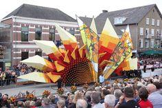 Millions of blooms revive Van Gogh in breathtaking Corso Zundert flower parade