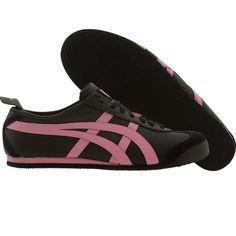 Asics Onitsuka Tiger Womens Mexico 66 (black / rose pink) HL474-9018 - $79.99