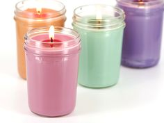 Learn how to make soy container candles.