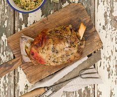 Maggie Beer's Shoulder of lamb cooked in a bag