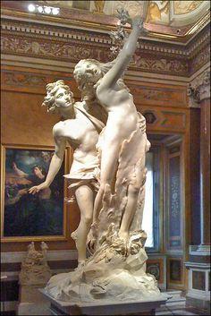 La Galleria Villa Borghese (Rome) - The sculptures in this Villa (museum) are spectacular.