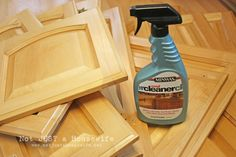 Painting kitchen cabinets!