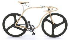 Thonet Track Bicycle By Andy Martin - Made from Beech Wood
