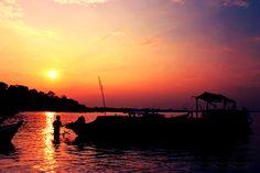 Sunset @ Air Antu Beach Bangka Island,  Indonesia