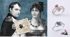 #Napoleon Bonaparte gave his wife, Josephine two pear shaped stones as #EngagementRing.   Read more and get similar style at http://on.fb.me/101K6Bv    #history