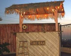 How to build your own tiki bar for cheap! | ️Good Idea ️ ...