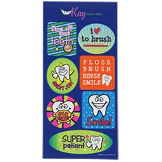 View a larger, more detailed picture of the Super Kid Sticker Sheet - Tooth Time