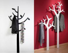 Le porte manteau arbre ajoute une touche d co votre int rieur porte mante - Porte manteau arbre ikea ...