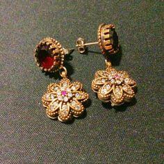 A Indian earrings.