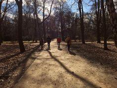 Berlin en familia. Parque Tiergarten