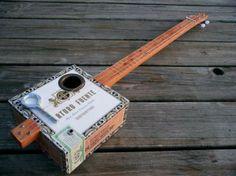 Lil' Moe Cigar Box Guitar on BourbonandBoots.com