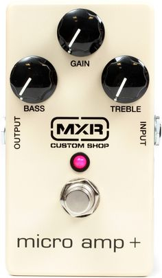 MXR Micro Amp Plus - Clean Boost Pedal | Sweetwater.com