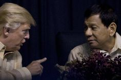 "Trump unlikely to rebuke Duterte on brutal drug war, believed to be a fan https://tmbw.news/trump-unlikely-to-rebuke-duterte-on-brutal-drug-war-believed-to-be-a-fan  MANILA, Philippines (AP) — Philippine President Rodrigo Duterte has sanctioned a bloody drug war that features extrajudicial killing. He called Barack Obama a ""son of a whore."" This week, he boasted that he murdered a man with his own hands.All that may well go unmentioned in public by President Donald Trump when the leaders…"