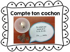 Comptecochon Math Term, Commission Scolaire, Centre, Math 2, Cycle, School, Design, Names, School Resources