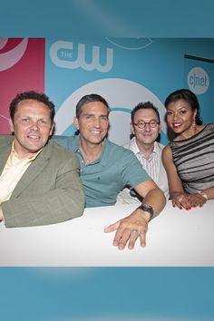 The Cast of 'Person of Interest'    Kevin Chapman, Jim Caviezel, Michael Emerson and Taraji P. Henson gathered to sign autographs for fans.