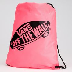Vans Off the Wall Logo   Pink Vans Off The Wall Logo