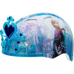 Bell Sports Disney Frozen Child 3D Helmet, Blue - Walmart.com