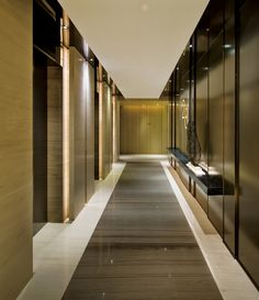 Modern Lift Lobby Design Ideas - More information Hall Hotel, Hotel Hallway, Hotel Corridor, Hotel Lobby, Modern Chinese Interior, Elevator Design, Elevator Lobby, Lift Design, Corridor Design