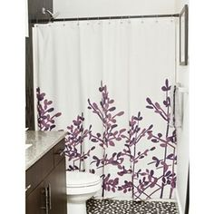 Master bathroom idea and tones of purple for paint.