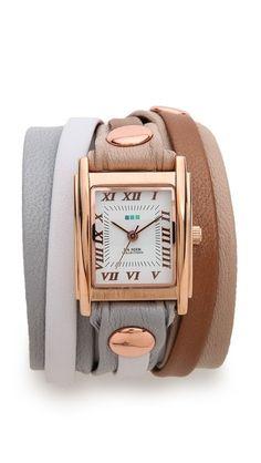 La Mer Collections Montreal Wrap Watch - Shopbop