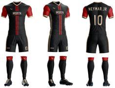 Goal Soccer Kit jersey Uniform Template PSD