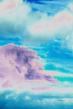 Cloud Art Print by Amy Sia