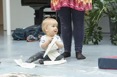 Lasten Taidelauantai Riihimäen taidemuseolla. Kuva: Pekka Hovi