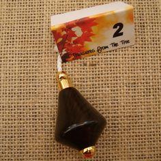 LIGHT PULL 2 Ebony African Wood Fan Pull by TreasuresFromTheTree