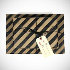 Ace Hotel Gift Wrapping.. Love the clean lines.. Good for any occasion..