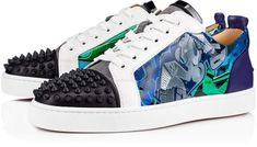 5fbf1fab0b9 Versace black and multicoloured Chain Reaction sneakers ...