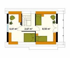 Walls by Biuro Projektów MTM Styl - domywstylu. The Plan, How To Plan, Wooden Textures, Square Meter, Quito, Cabana, Ideas Para, House Plans, Floor Plans