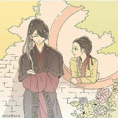 moon lovers which made me cry out my eyes😊😊 Korean Art, Korean Drama, Korean Anime, Moon Lovers Scarlet, Scarlet Heart Ryeo Wallpaper, Kdrama, Wang So, Kpop, Japanese Drama
