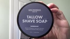Supply Provision - Tallow Shaving Soap - Post Shave Tonic