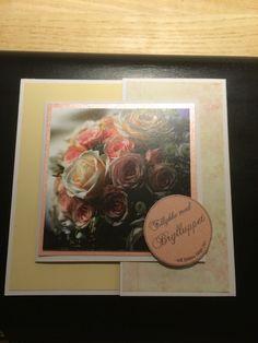 Kort /card Bryllup / wedding Hjemmelavet / homemade