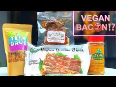 👍Love It or Leave It Alone:Vegan Bacon Items by Yeah Dawg, Parma,Valentine Burger, & All Vegetarian🥓 - YouTube Reasons To Be Vegan, Snack Recipes, Snacks, Parma, Pigs, Bacon, Vegetarian, Breakfast, Youtube