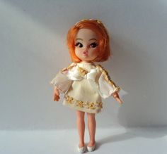 Hasbro Dolly Darlings Doll Redhead Mod Vintage by SaturdayMorningM, $43.00