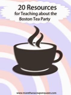 Free Boston Tea Party Mini Unit and Resources   Homeschool Giveaways
