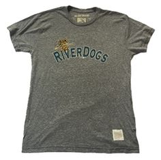 Charleston Riverdogs Men s Original Retro Brand T-Shirt Branded T Shirts 605714602