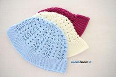 Crochet Sun Hat - Free pattern and tutorial. http://www.bhookedcrochet.com/2017/06/25/crochet-sun-hat/
