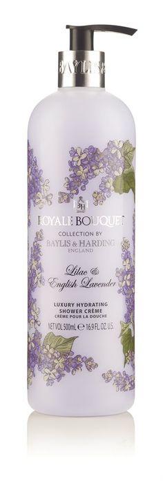 Baylis & Harding Royal Bouquet Lilac & English Lavender Shower Crème 500ml | Gratis frakt - rask levering
