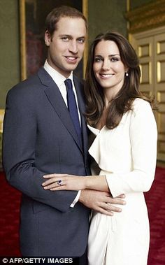 William said the day he really felt his mother's loss was on his wedding day. 'I think she would have loved the day and I think, hopefully, she¿d be very proud of us both for the day,' he said.
