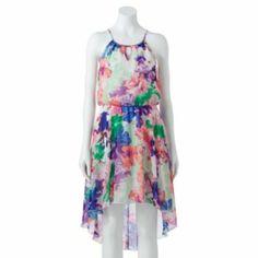 e0f07387569 Juniors  Lily Rose Floral Hi-Low Dress. Kohls DressesHi ...