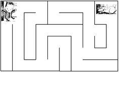 where is the cat? maze activity أين القط؟ ورقة عمل ...