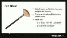 Younique March Spring 2017 launch Fan Brush Available March 1st. Want it in February? Message me!!  Www.youniqueproducts.com/AnnColdwell