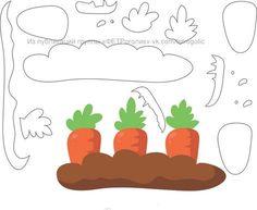Bonecos da Fazenda com moldes Felt Food Patterns, Felt Animal Patterns, Quiet Book Patterns, Letter D Crafts, Book Crafts, Felt Crafts, Quiet Book Templates, Felt Templates, Silent Book