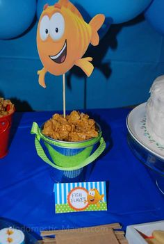 The Bambinos had a spectacular Bubble Guppies bash on Saturday.   Those boys are so spoiled  loved :)       I did so much better this year a...
