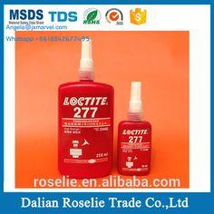 Glues, Epoxies & Cements Liquid Glues & Cements Reasonable 10pcs Red Loctite 272 High Strength High Temp Thread Locker 50ml Reliable Performance