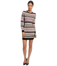 RED VALENTINO RED VALENTINO  Dress HRA9A377 Black Multi Womens Dress for 277.99 at Im in!