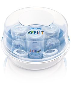 Philips AVENT Microwave Steam Sterilizer $15.19 {reg. $32} Highly Rated!