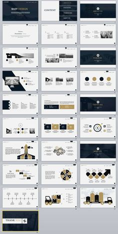 PowerPoint Template Item Details: templates Video: Features: 2018 Best business PowerPoint templates Easy and fully editable in powerpoint (shape color, size, position, etc). PPT & pptx files for Ratio. Keynote Design, Ppt Design, Design Powerpoint Templates, Layout Design, Template Web, Professional Powerpoint Templates, Slide Design, Keynote Template, Brochure Design